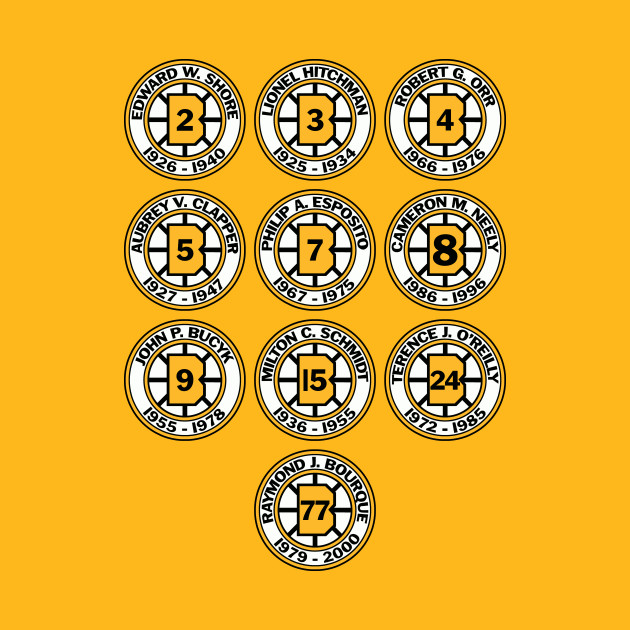 cb487b080 Hub of Hockey - Boston Bruins - Kids T-Shirt