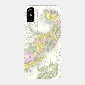 Mexico Map 1850.Historical Mexico Map Phone Cases Teepublic