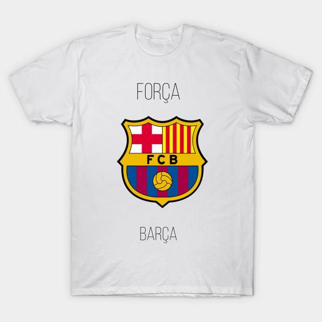 5da4e1541bd862 Forca Barca - Barcelona - T-Shirt