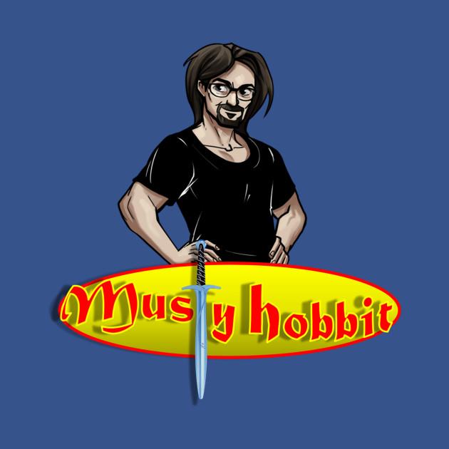 Musty Hobbit Logo - Youtuber - Kids T-Shirt