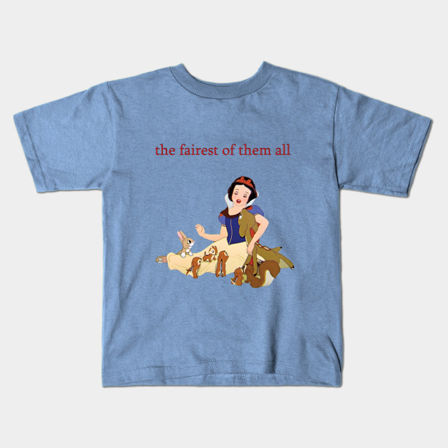 ad95bd94 The Fairest of Them All - Snow White - Kids T-Shirt   TeePublic