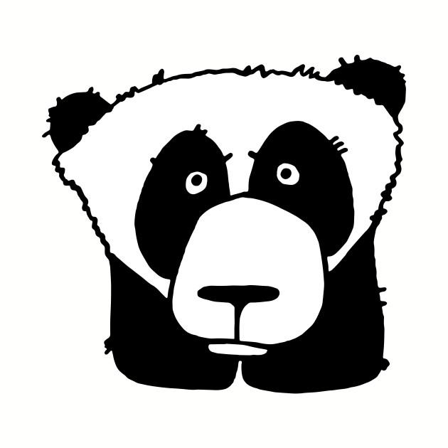 Wistful panda