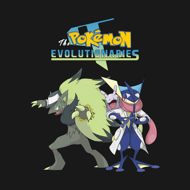 The Pokémon Evolutionaries Mascots