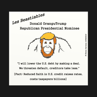 Donald OranguTrump cannot handle debt
