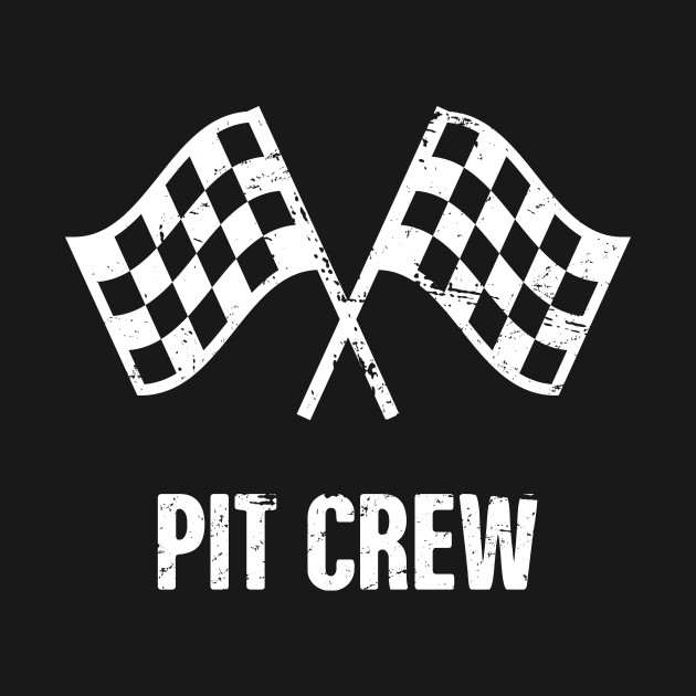 Pit Crew | Race Car Racing Gift