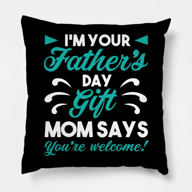 Fathers Day Gift For Father Dad Papa Birthday Pillow