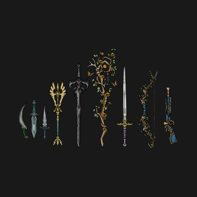 Vox machina weapons