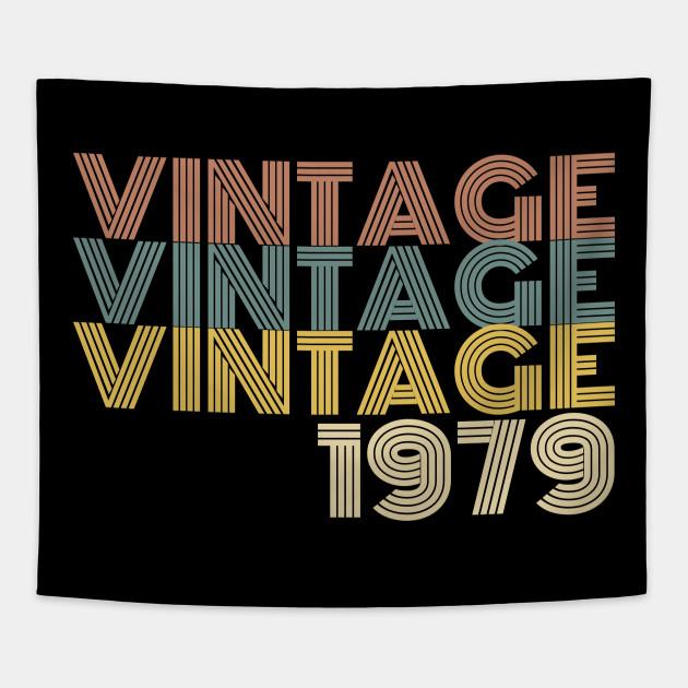 Vintage 40th Birthday Gift Tapestry