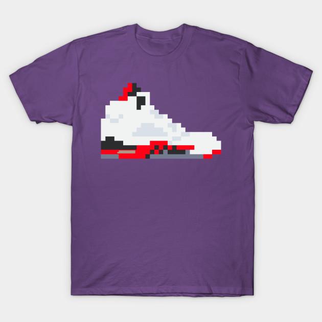 ee2cf9cb5377d1 8-bit Jordan 5s - Jordan - T-Shirt