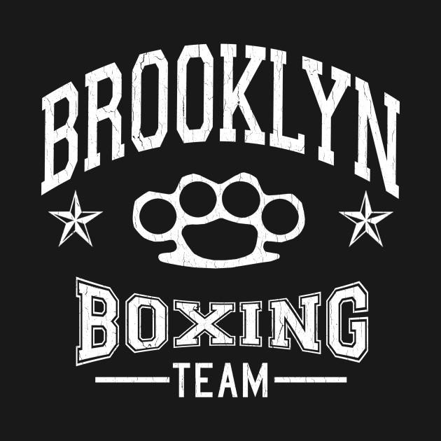 Brooklyn Boxing Team (vintage distressed look)