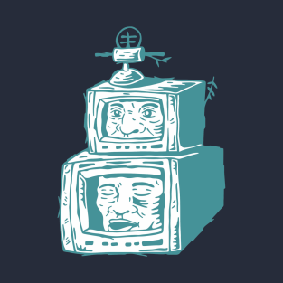 Televisi on daily. Televisi on issue t-shirts