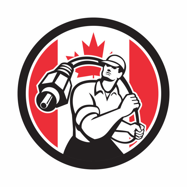 Canadian Cable Installer Canada Flag Icon