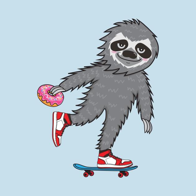 Skater Sloth