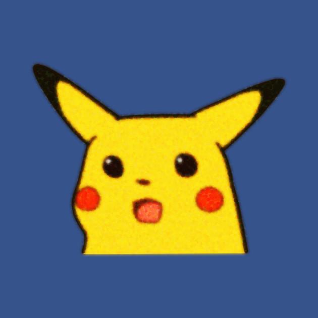 Shocked pikachu Surprised pikachu meme blurry low ...