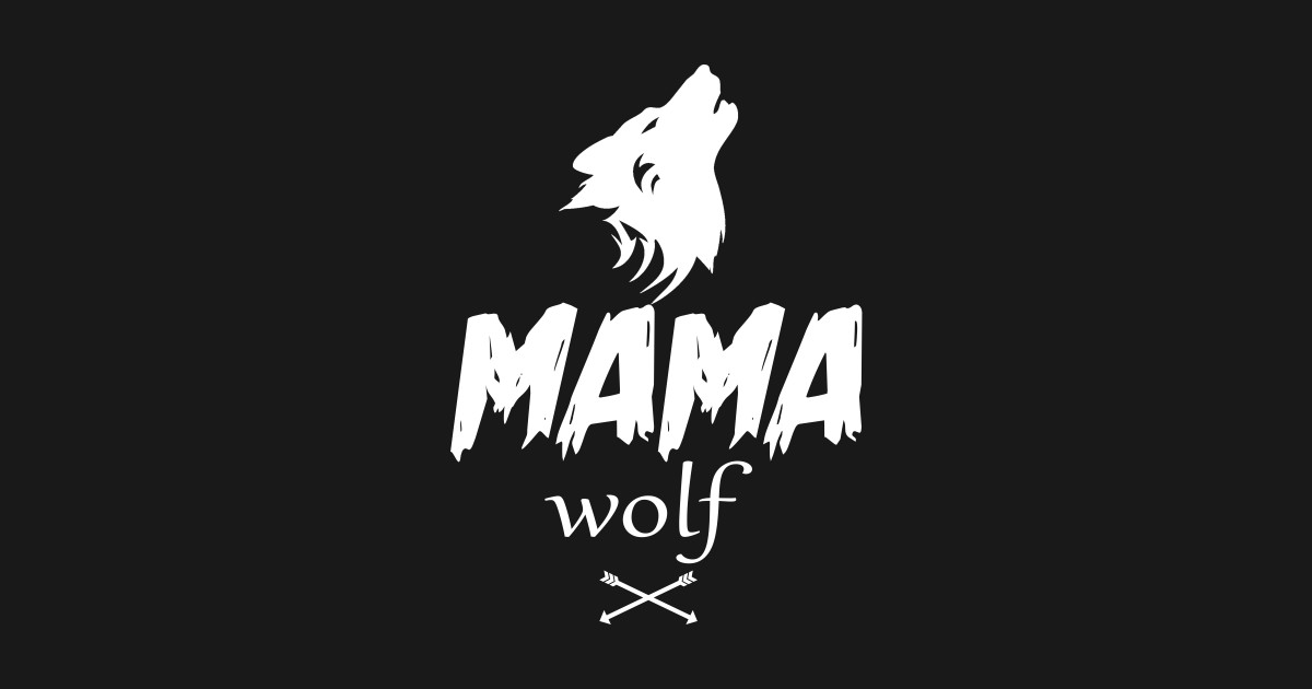 1e635e704 Baby Wolf Mama Wolf Shirt Papa Wolf Forest Wolf Pack Family of Wolves  Mothers Day T-Shirt