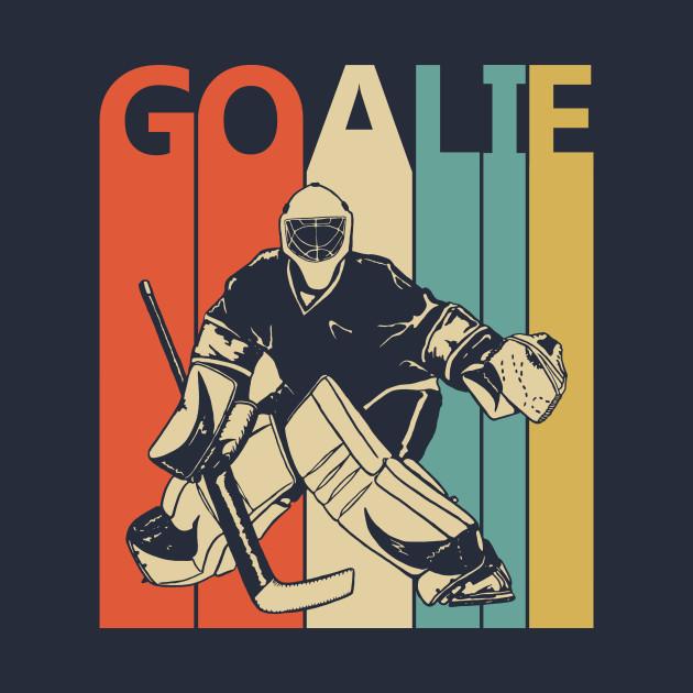Vintage Ice Hockey Goalie Gift