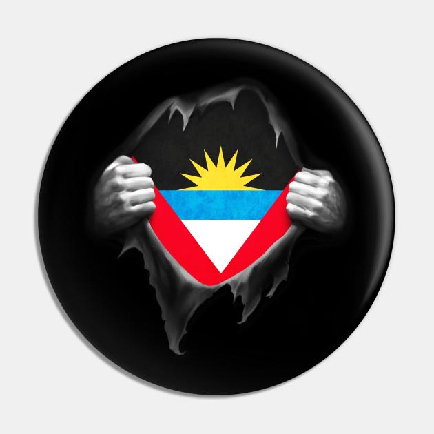 Antigua Flag Antiguan Roots DNA Pride Gift