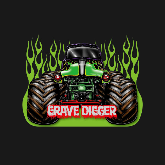 Awesome Monster Truck Pics Grave Digger - cool wallpaper