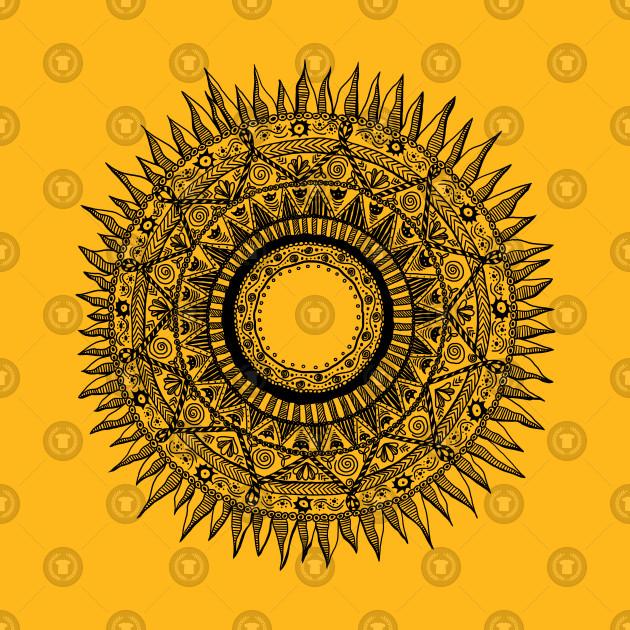 Sun ornament 1
