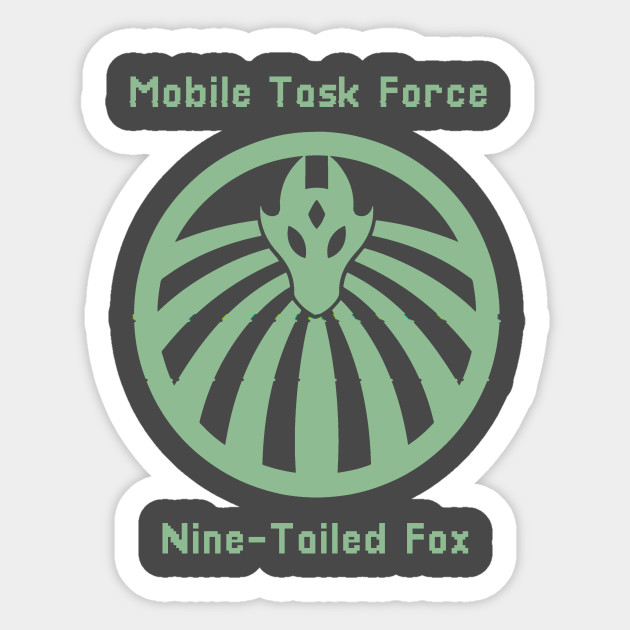 SCP Nine Tailed Fox Mobile Task Force MTF Pixelated