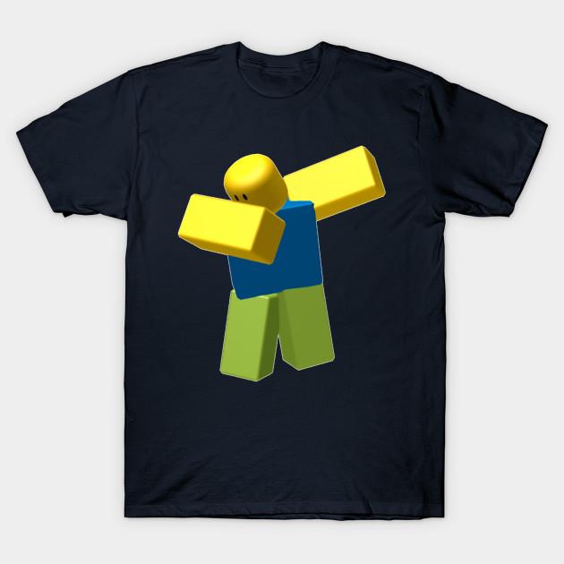 Dabbing Roblox Noob Dab Roblox T Shirt Teepublic