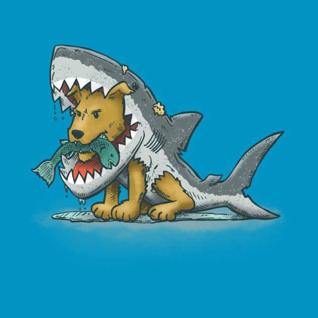Sharksuit Dog