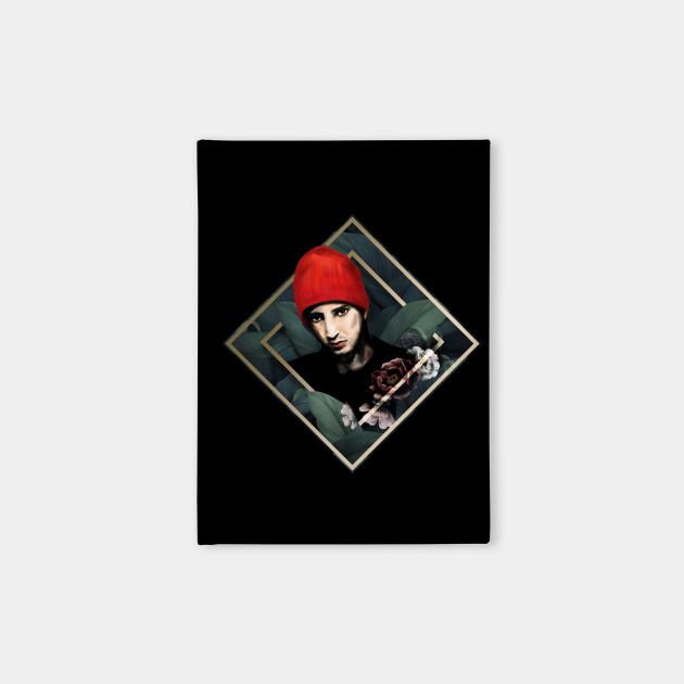 TyJo in Red Beanie Art