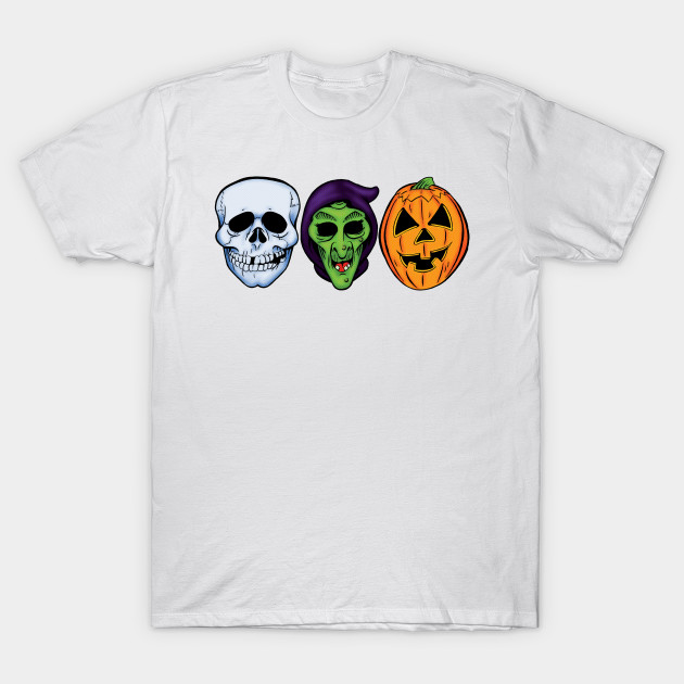 3 HALLOWEEN MASKS T-Shirt-TOZ