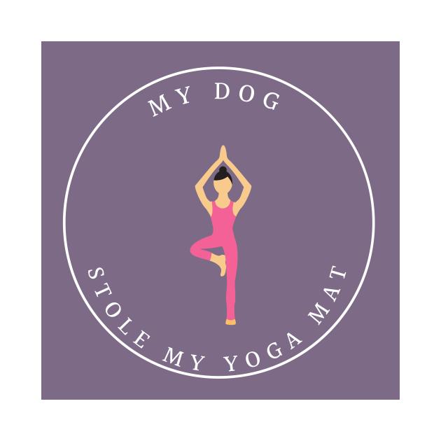 My Dog Stole My Yoga Mat