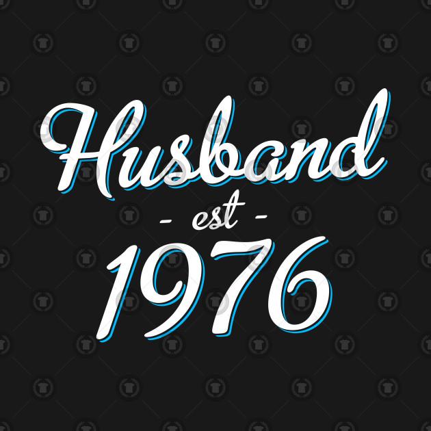 42nd Wedding Anniversary Gift Husband Est 1976 Husband Est 1976