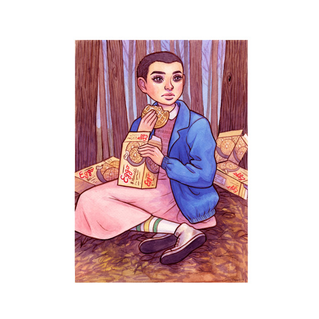 Eleven with Waffles
