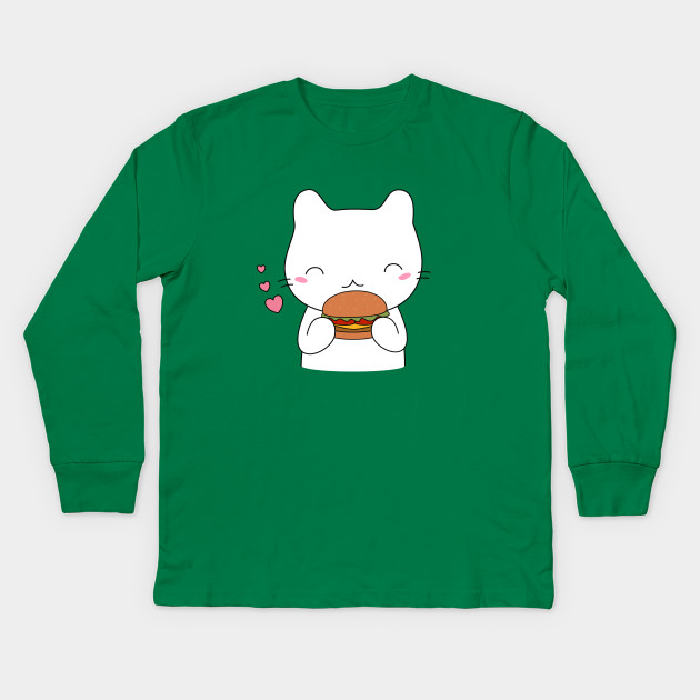 Cute cat on burger T-Shirt