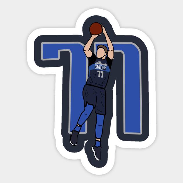 big sale 87de7 ba68b Luka Doncic 77 Fadeaway Jumpshot - NBA Dallas Mavericks