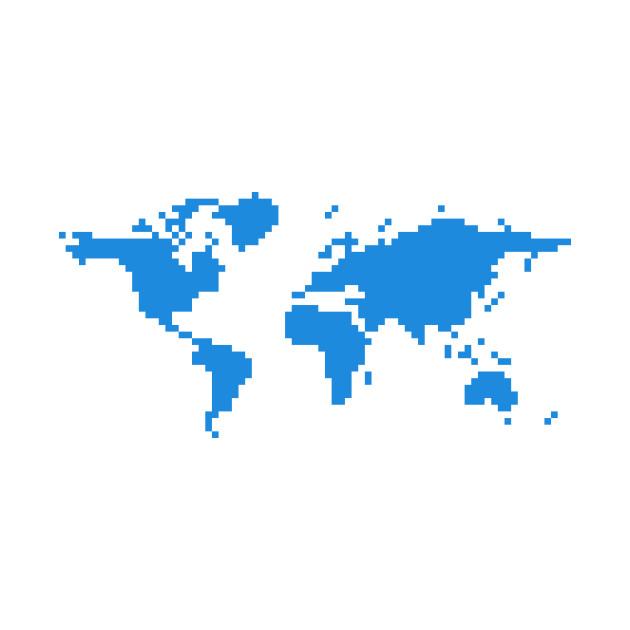 Pixel World, Blue