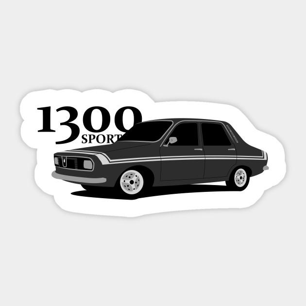 Dacia 1300 Sport - Car - Sticker