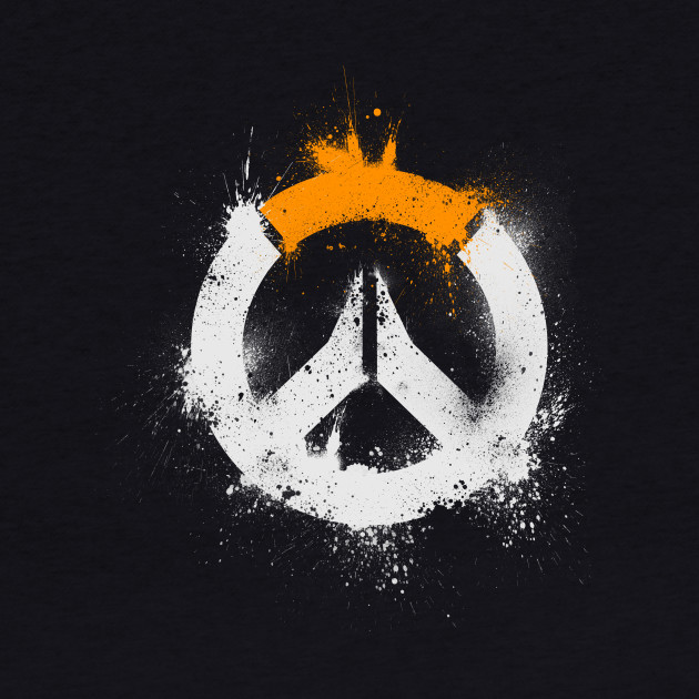 Overwatch Logo [Spray-Painted]