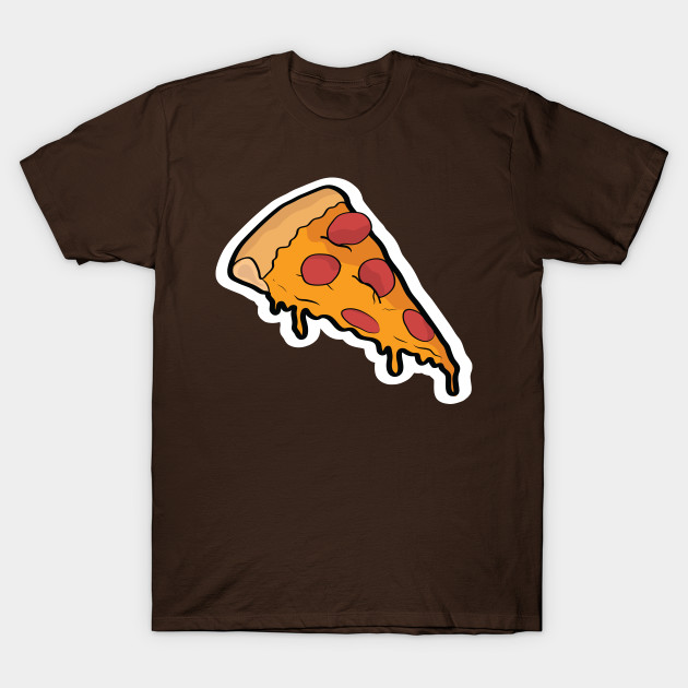 cartoon pizza pizza slice t shirt teepublic. Black Bedroom Furniture Sets. Home Design Ideas