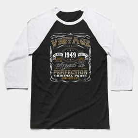 70th Birthday Gifts For Men Baseball T Shirts