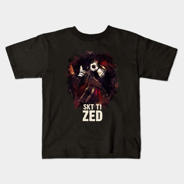 6972eb3c2 League of Legends SKT T1 ZED - League Of Legends - Kids T-Shirt ...