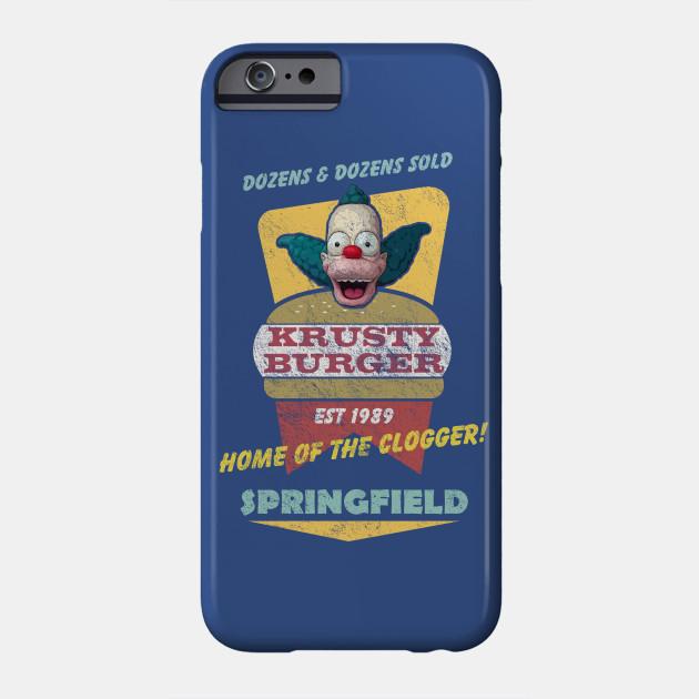Krusty Burger, distressed