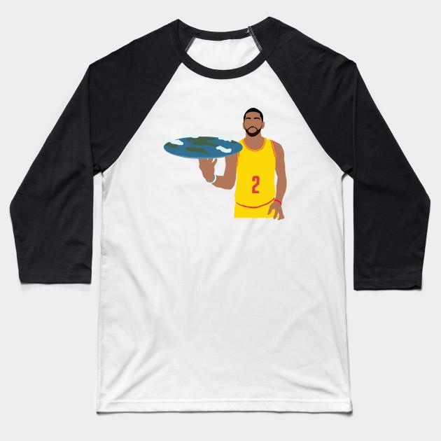0ccfea0c1 Kyrie Irving Flat Earth - Kyrie Irving - Baseball T-Shirt