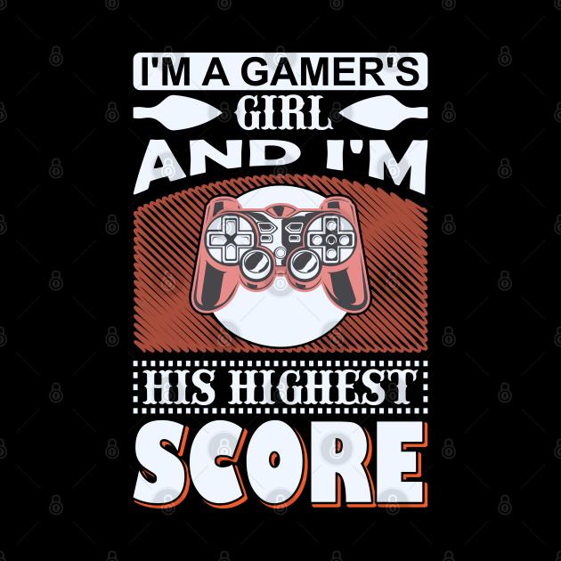 Im a Gamer's Girl Funny Gaming