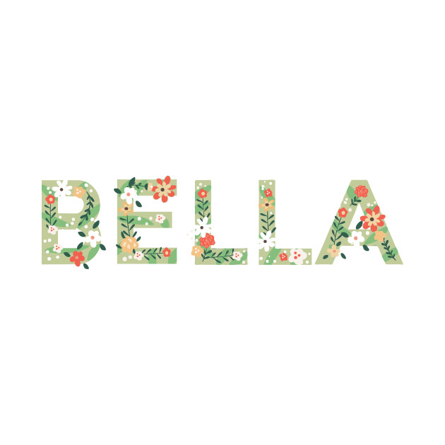 Female Names | Floral Series : Bella
