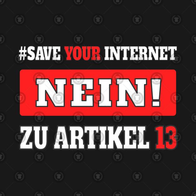artikel 13 upload filter