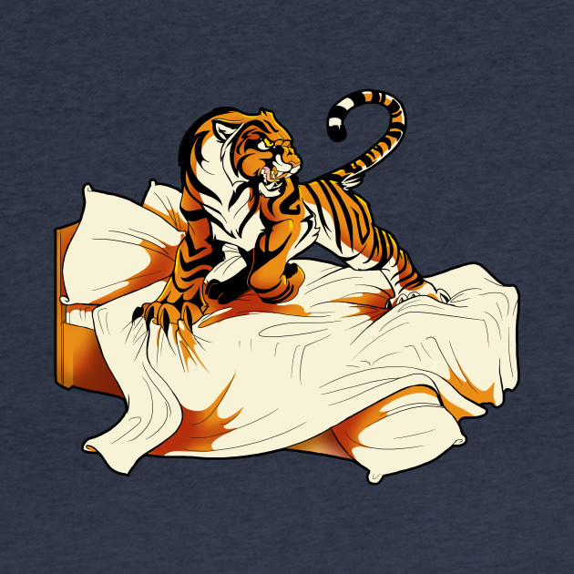 Tiger in Bed