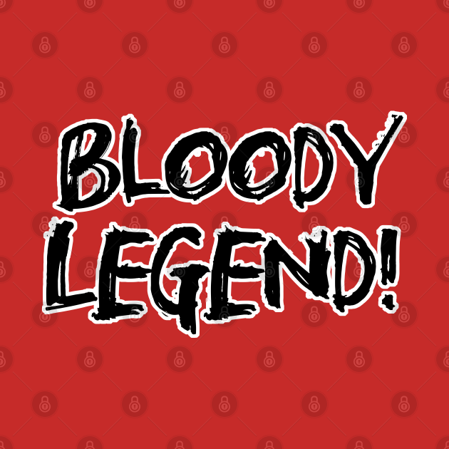 Bloody Legend - Black