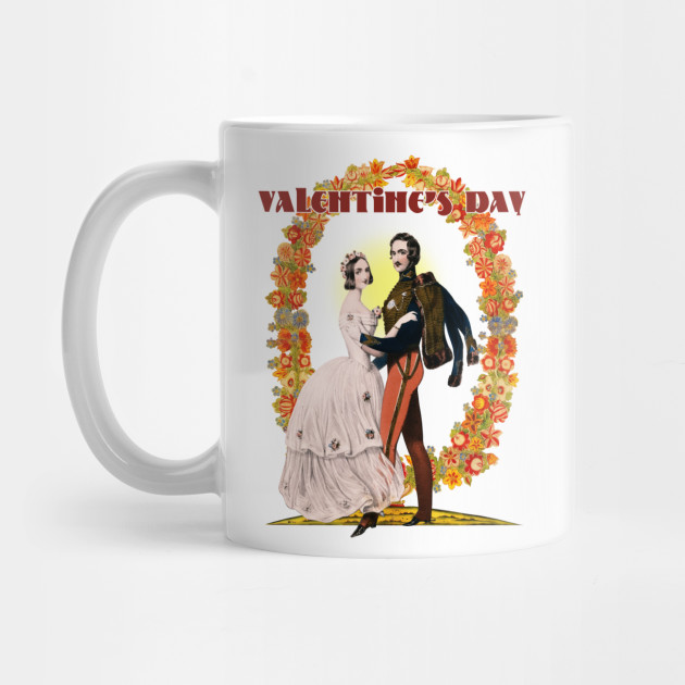 Valentine's Day Sweet Classic Couple Dance Mug