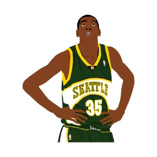 fd227e3cc8cf Rookie Kevin Durant T-Shirt
