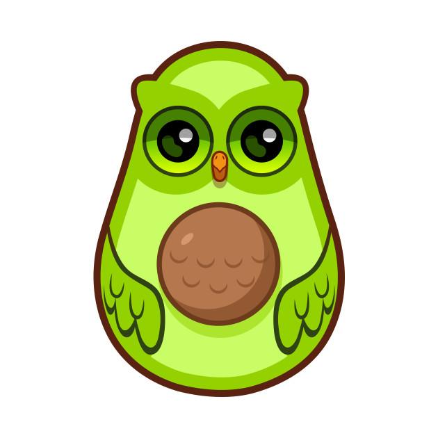 Avocad owl owl kids t shirt teepublic