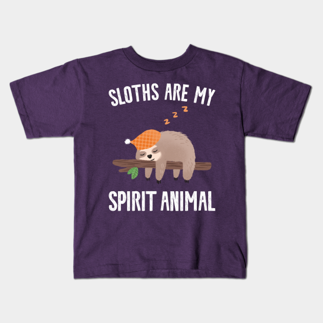 Sloth is my Spirit Animal Kids T-shirt